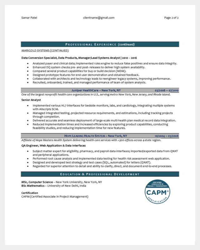 Technical Product and Program Manager Page 1
